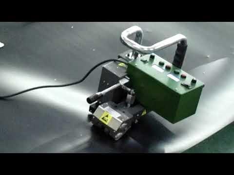 Аппарат для сварки геомембран 900D Geomembrane Hot Wedge Welding Machine