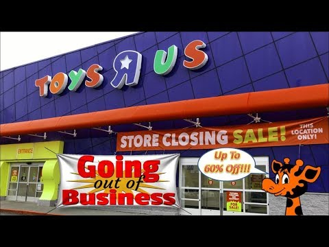 Toys R Us Store Closing Sale Update Up To 60 Off Youtube
