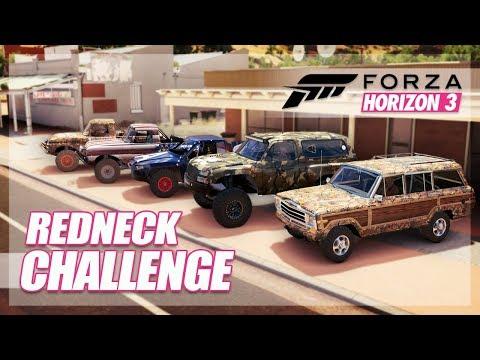 Forza Horizon 3 - Redneck Challenge! (Funny Moments) thumbnail