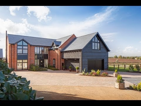 Luxury new homes flint hall farm newbold pacey for New house hall