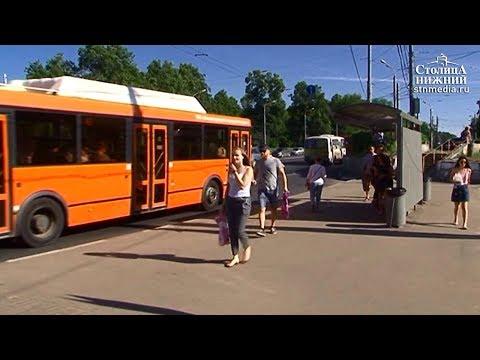 Мониторинг транспортной обстановки на выделенной полосе на проспекте Гагарина в Нижнем Новгороде