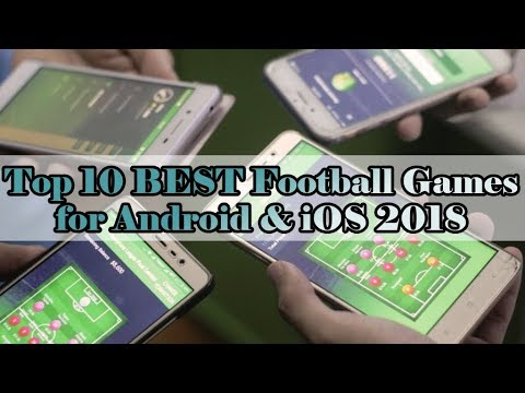 Top 10 BEST Football Games [Multiplayer OFFLINE] For Android & IOS 2018 [Multiplayer]