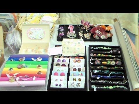 Lindsays craft fair booth 2013 - 동영상
