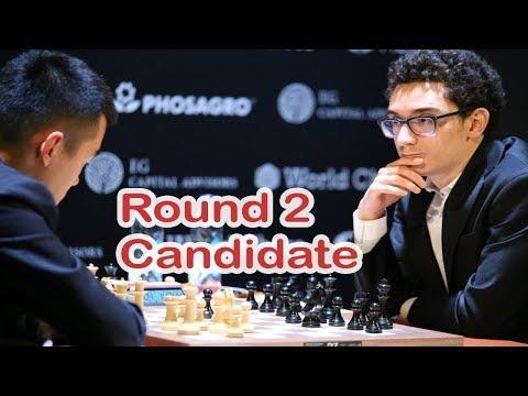 Is Caruana unstoppable ??!  Candidates 2018: part 2  Ding Liren vs  Fabiano Caruana