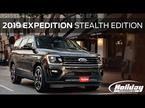 Vehicle Spotlight 2019 Ford Expedition Stealth Edition