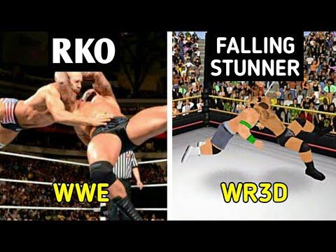 WWE Moves In Wrestling Revolution 3D