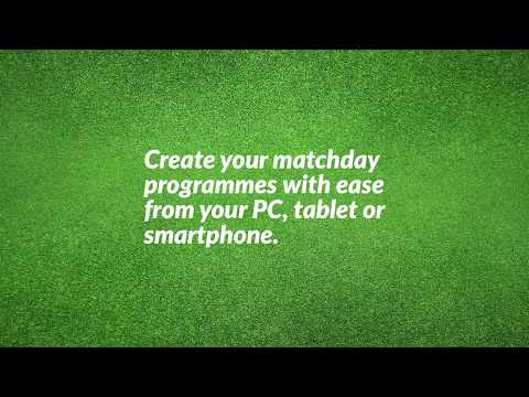Create, Edit Order Matchday Programmes Online.