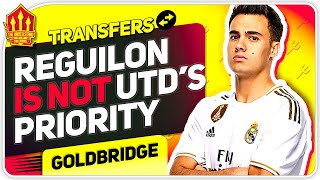 Reguilon Transfer Off? Sancho Transfer Latest! Man Utd Transfer News