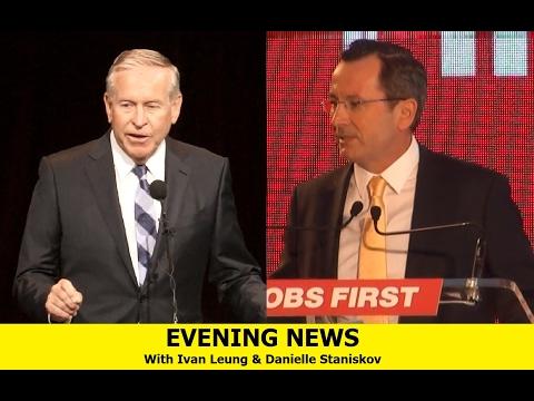 Evening News - [Election Campaign + Bali Risks]