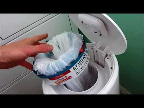 diaper-genie-hack:-use-a-trash-bag-to-refill-a-diaper-genie-and-save-money!