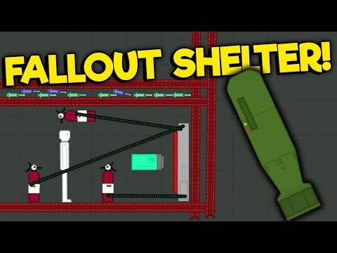I Built A Fallout Shelter To Save Ragdolls From Nukes In People Playground!