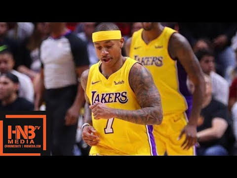 Los Angeles Lakers vs Miami Heat Full Game Highlights / March 1 / 2017-18 NBA Season