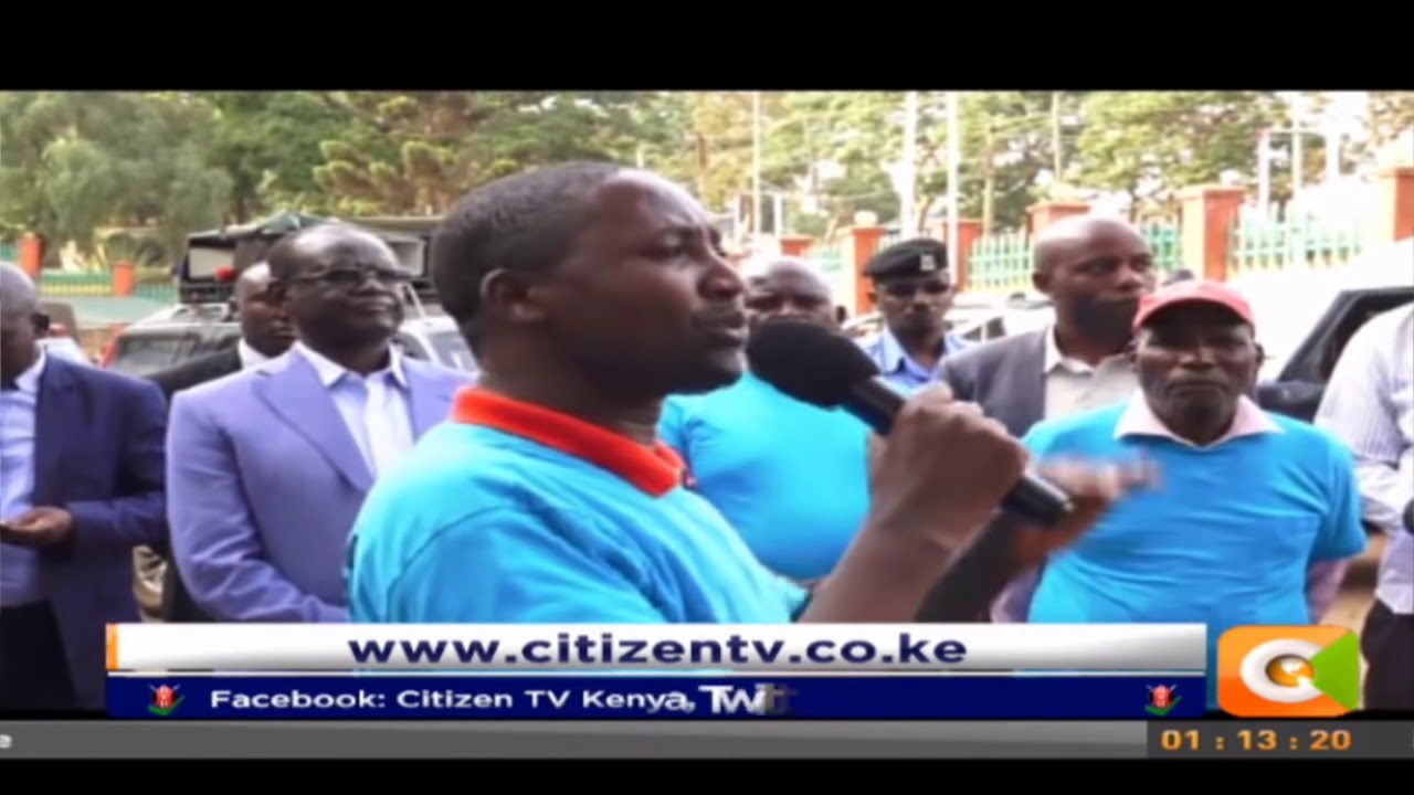 Meru Macadamia farmers protest arrest of Chinese found without permits