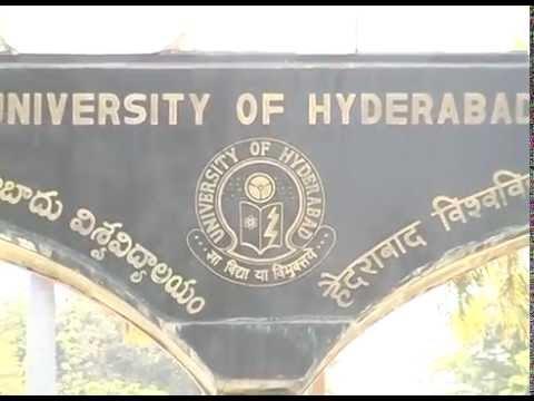 UNIVERSITY COLLEGE OF HYDERABAD UOH HYDERABAD CENTRAL UNIVERSITY