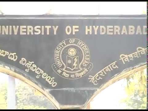 UNIVERSITY COLLEGE OF HYDERABAD UOH HYDERABAD CENTRAL UNIVERSITY