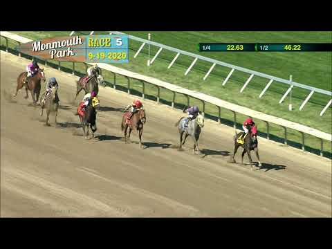 video thumbnail for MONMOUTH PARK 09-19-20 RACE 5
