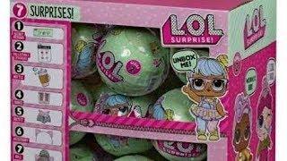 Ляльки - сюрпризи ЛОЛ 2 сезон! Розпакування та огляд. LOL Surprise Doll