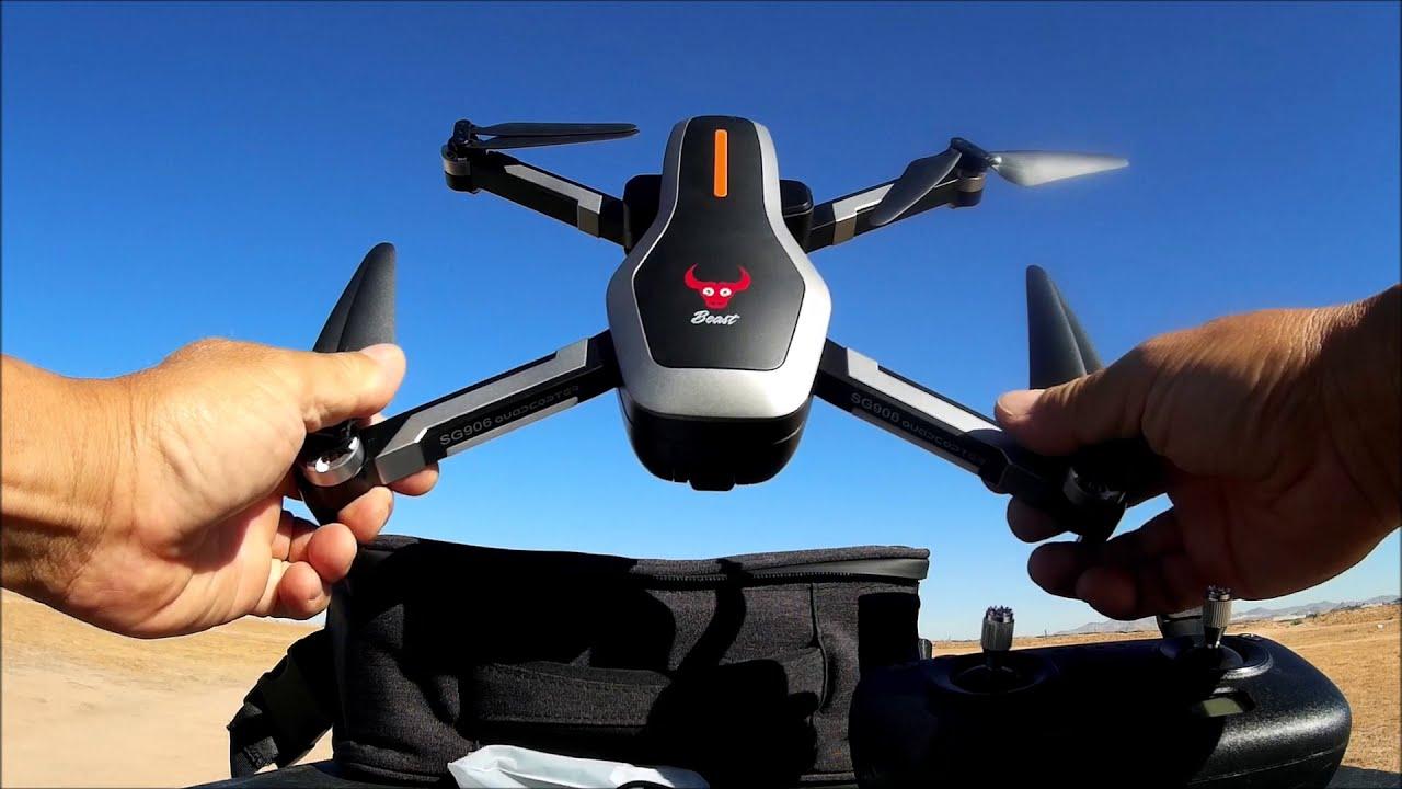 "ZLRC ""Beast"" SG906 5G Wifi GPS FPV Drone with 4K Camera фото"