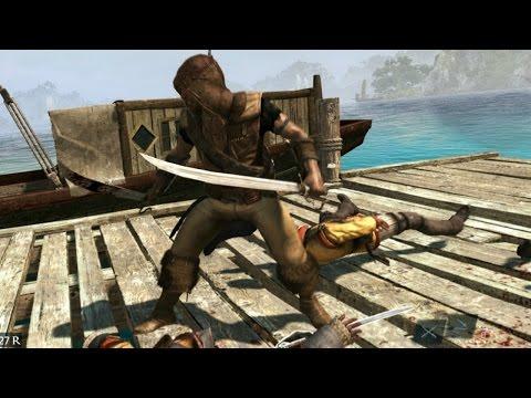 Assassin's Creed 4 Hunter Outfit & Pirate Scimitars ( Nassau Combat & Parkour )