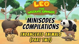 Leo the Wildlife Ranger Season 1 Compilations - Endangered Animals (Part Two)