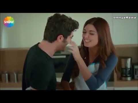 حياة ومراد ـ مشهد رومانسى جدا Youtube