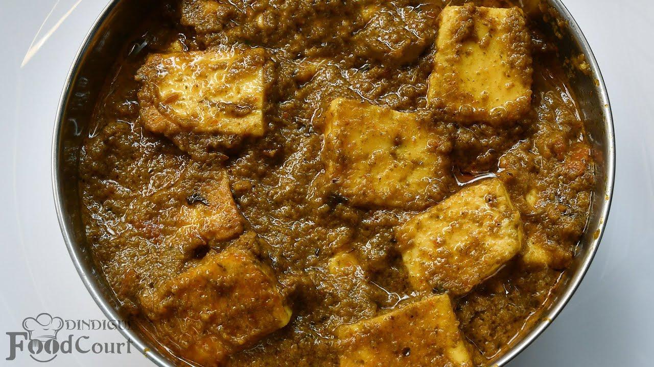 Perfect Side Dish for Chapati/ Paneer Masala/ Mint Paneer Masala