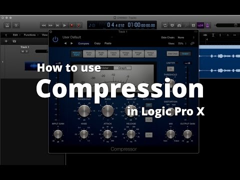 How to Use Compression in Logic Pro X (for podcasts)