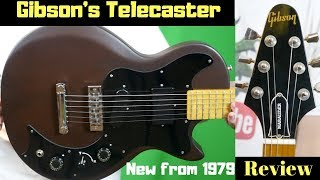 The 39-Year Old Virgin - AKA Gibson's Telecaster | 1979 Gibson Marauder Mocha Brown | Review + Demo