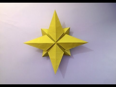 How to make: Origami Christmas Star