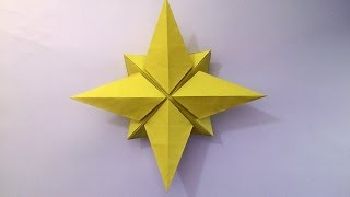 How to make: Origami North Star