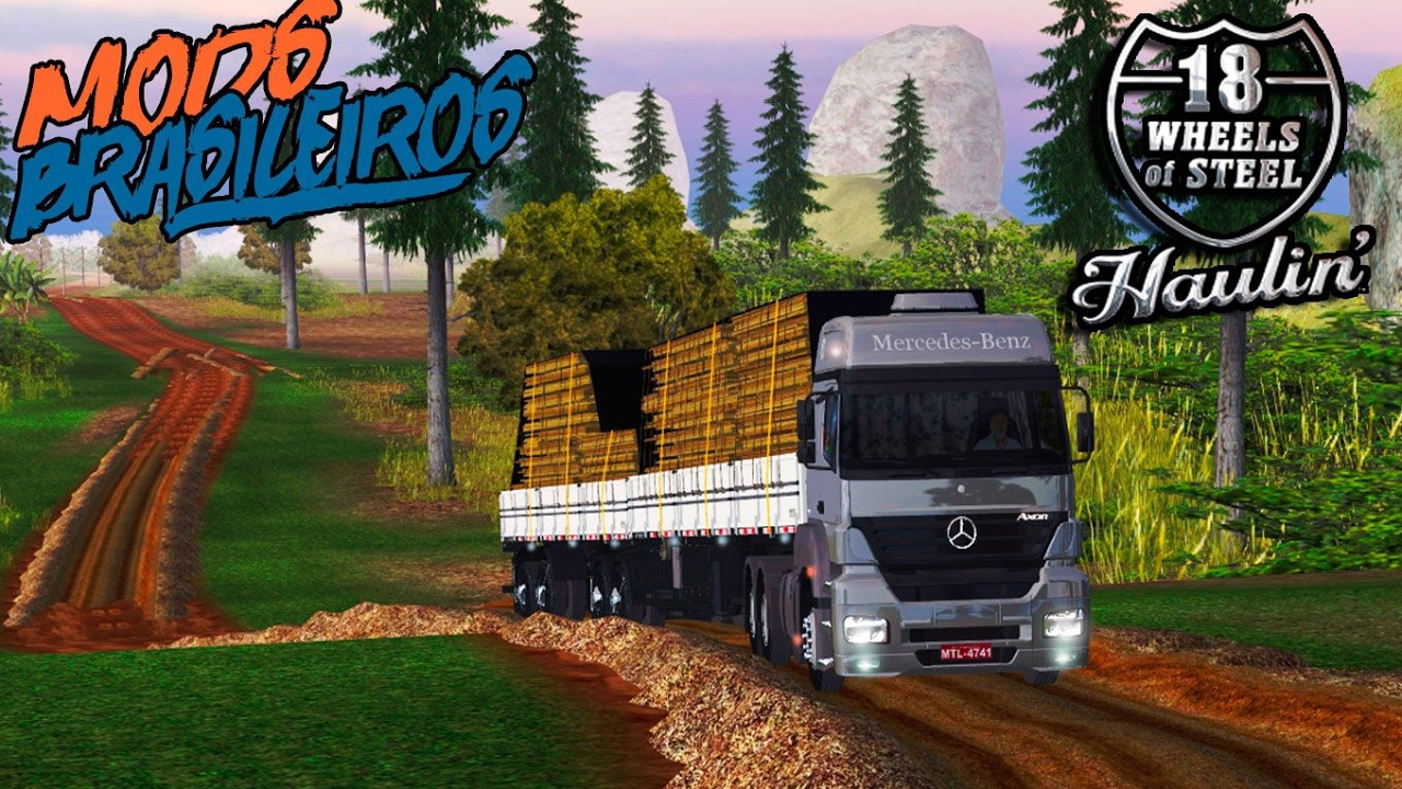 18 wheels steel haulin brasil completo