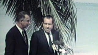 President Nixon On Key Biscayne