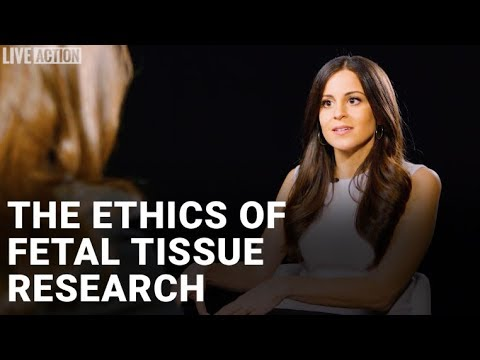 The ethics of fetal tissue research - Lila Rose interviews Tara Sander Lee