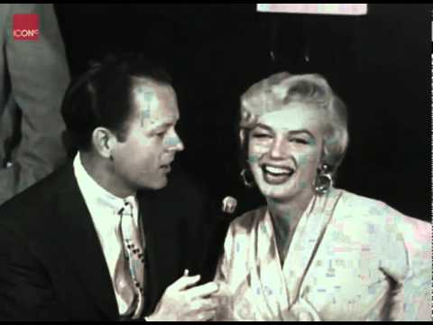 Marilyn Monroe interview at Idlewild Airport