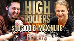 HIGH ROLLERS 2020 #43 $10k Lena900 | Amadi_017 | pkrbt Final Table Poker Replays