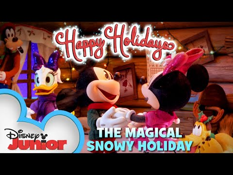 Mickey Mouse and the Magical Snowy Holiday | Mickey Mouse Mixed-Up Adventures | Disney Junior