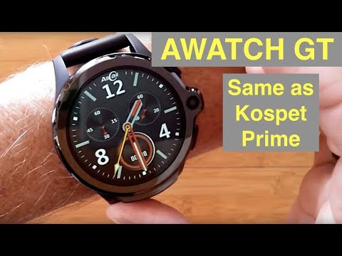 AllCall AWATCH GT 4G Android 7.1.1 3GB/32GB Smartwatch (Cheap PRIME Clone): Unboxing & 1st Look