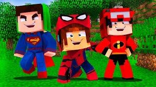 Baixar FESTA A FANTASIA DE SUPER-HERÓIS NA CASA DOS YOUTUBERS !! - Minecraft