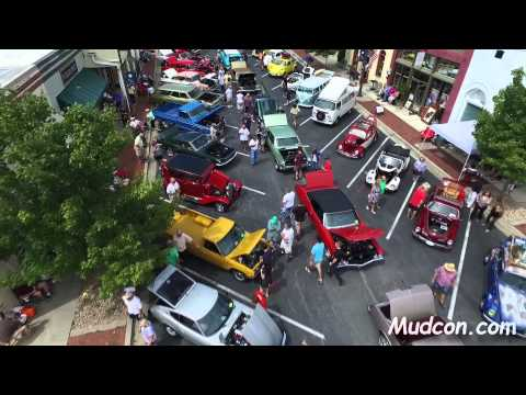 12th Annual Car Show Flowery Branch Georgia 9-12-2015 w/ DJI Phantom 3