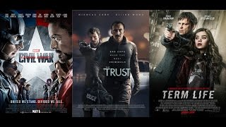 AJ's Movie Reviews: Captain America: Civil War, The Trust & Term Life(5-6-16)