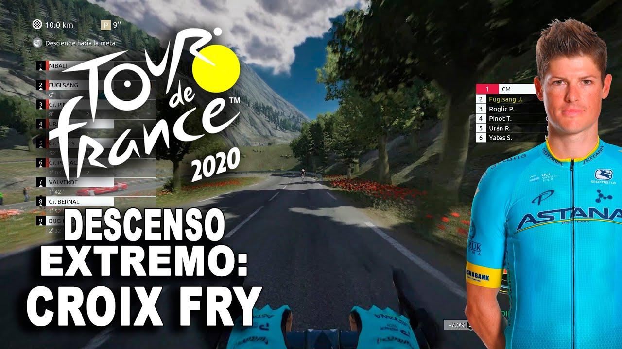 TOUR DE FRANCE 2020 Descenso extremo Croix Fry VR_JUEGOS