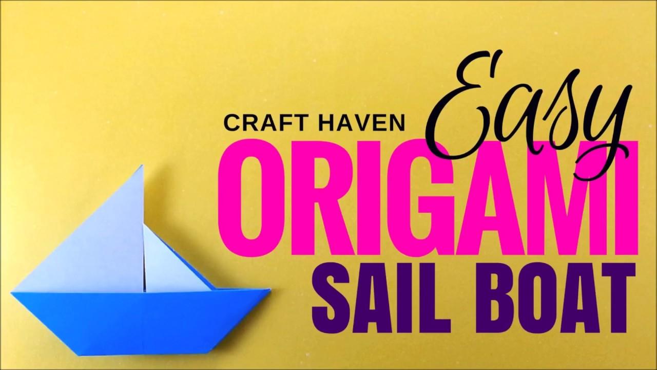 Easy Origami Sail Boat