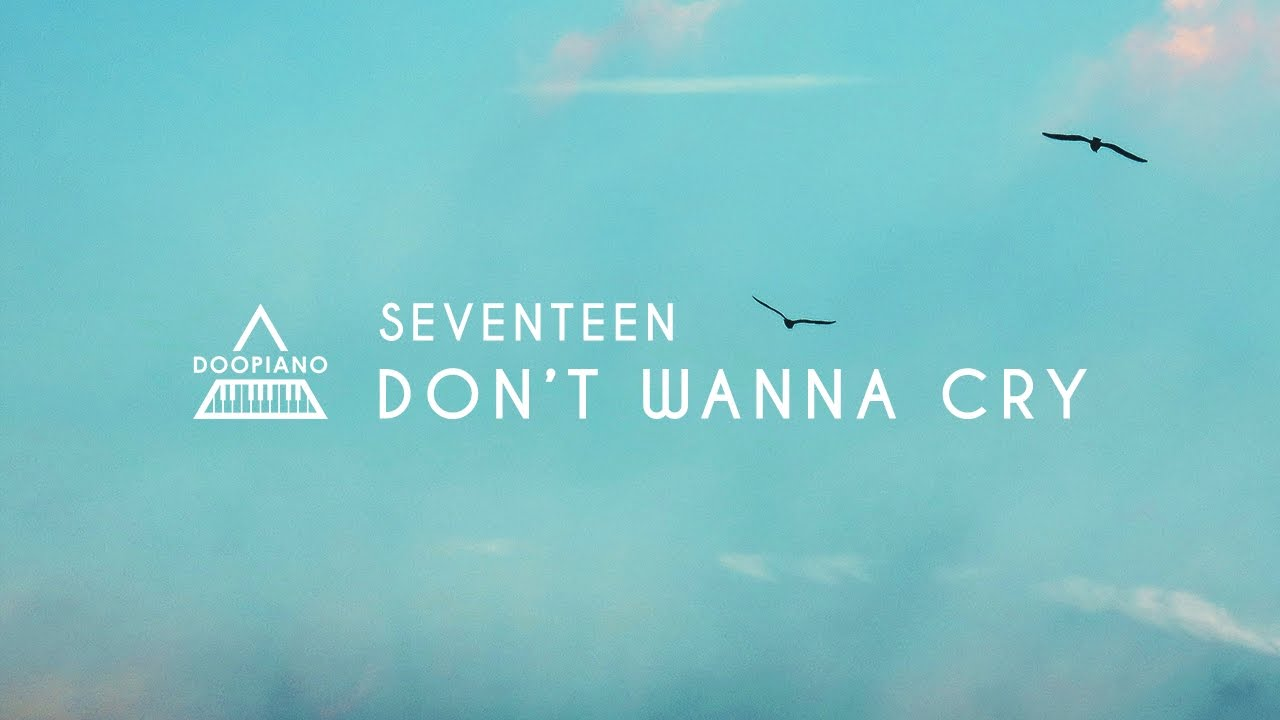 seventeen dont wanna cry piano mp3 download