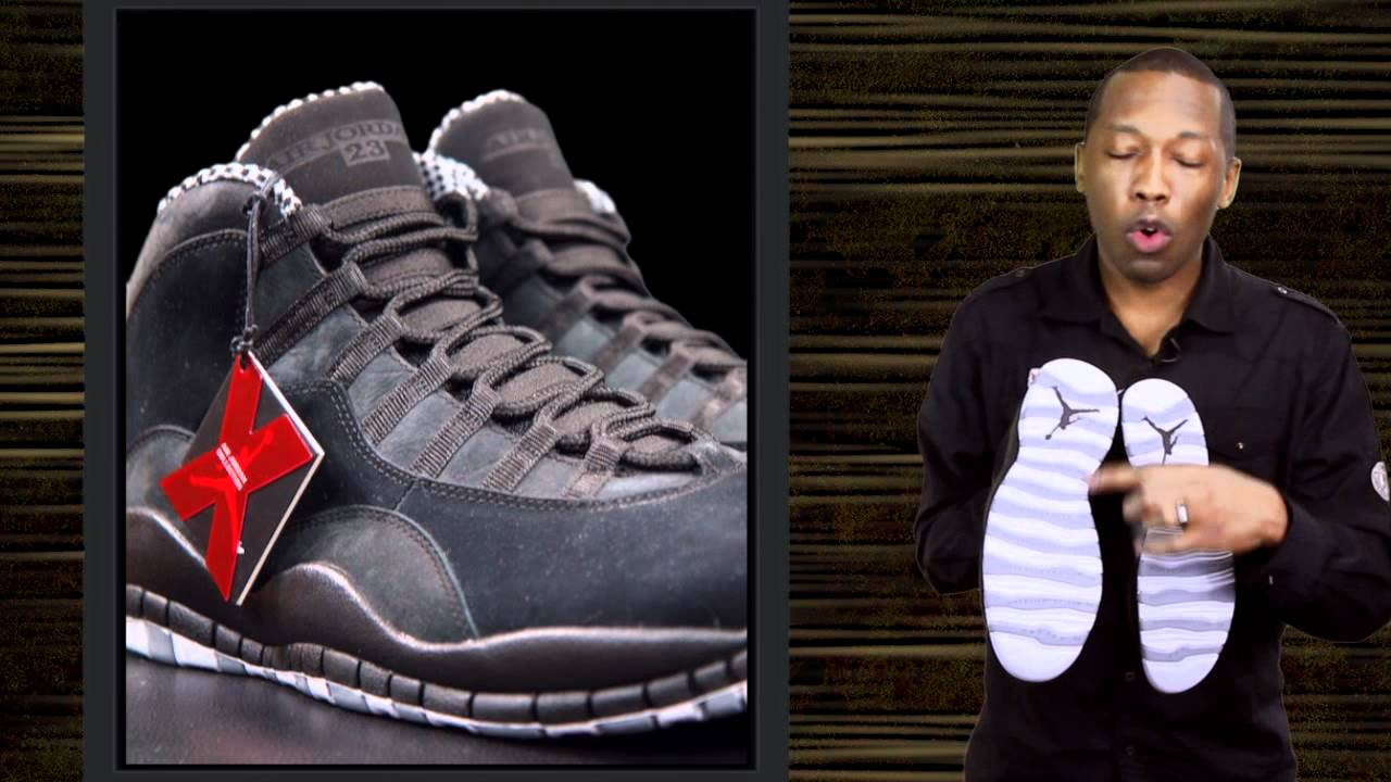 wholesale dealer 3bbf7 2742c Air Jordan 10 Stealth (First Look) - YouTube