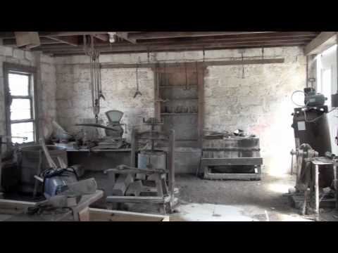 Blacksmith Shop and Tools at the Manhattan Park District Baker-Koren Round Barn Farm Park