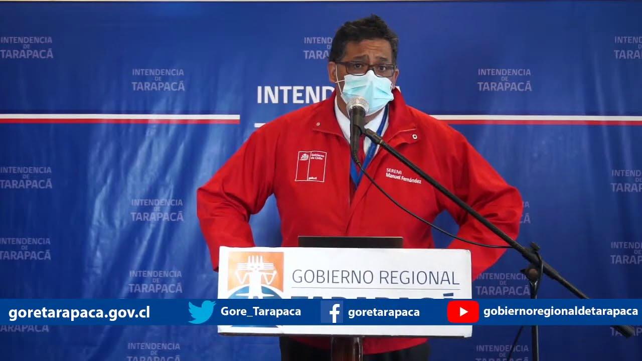 Punto de prensa 10 de agosto de 2020 - Gobierno Regional de Tarapacá