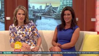 Charlotte Hawkins' Huge Bruise From Tough Mums | Good Morning Britain