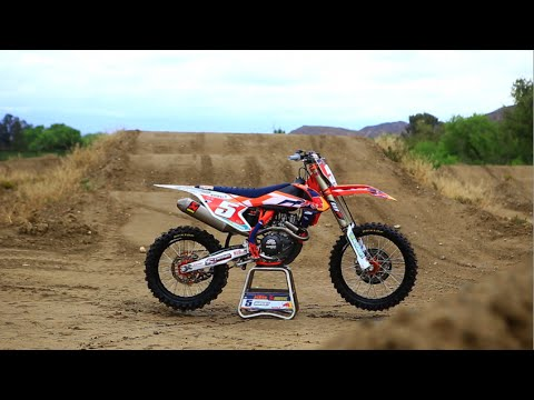 Motocross Action tests Ryan Dungey's Factory KTM 450 SXF FE