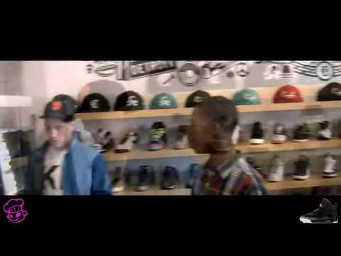 Nike Air Yeezy Release at Burn Rubber pt. 2 (Kanye West Detroit)