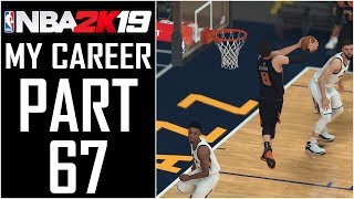 """NBA 2K19 - My Career - Let's Play - Part 67 - """"Dunk Contest Accepted?, One Bronze Badge""""   DanQ8000"""